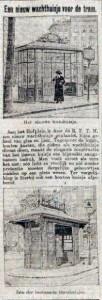 19130226 Nieuw wachthuisje. (RN)