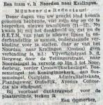 19130825 Tram van het noorden naar Kralingen. (RN)