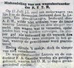 19130828 Mishandeling bestuurder. (RN)
