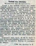 19131112 Verbod op rijtuigen. (RN)