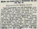 19140527 Hulde aan bestuurder 1. (RN)