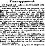 19140715 Tramwegpersoneel 1. (Het Volk)