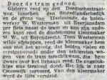 19150531 Dood door tram. (RN)