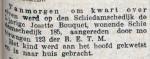19150917 Aangereden. (RN)