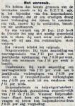 19160613 Het verzoek 1. (De Tribune)