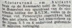 19160913 Spandraad gebroken. (RN)