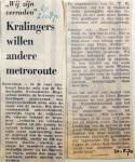 19700820 Kralingers willen andere metroroute (RN)