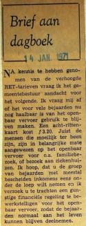 19710114 Brief aan dagboek.