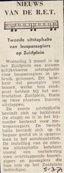 19710305 Nieuws van de RET.