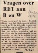 19710309 Vragen over RET aan BenW (Havenloods)