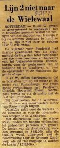 19710408 Lijn 3 nit naar Wielewaal.