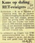 19710422 Kans op daling RET reizigers (RN)