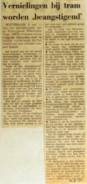 19710504 Vernielingen bij tram worden beangstigend