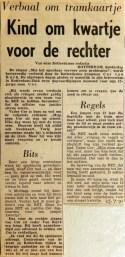 19710722 Kind om kwartje voor rechter