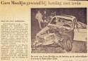 19711015 Coen Moulijn gewond. (NRC)