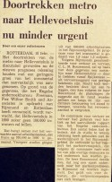 19720210 Metro Hellevoetsluis minder urgent. (NRC)