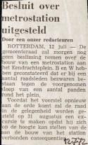 19720712 Besluit station uitgesteld.