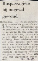 19720802 Passagier gewond.