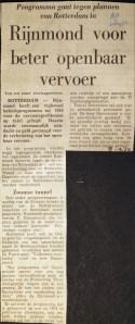 19720908 Rijnmond voor beter OV.