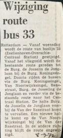 19720908 Wijziging buslijn 33.