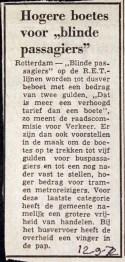 19720912 Boete voor Blinde passagier.