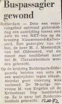 19721012  Buspassagier gewond.