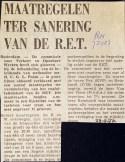 19721123 Maatregelen sanering. (RN)