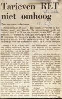 19721215 Tarieven omhoog. (NRC)