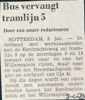 19730103 Bus vervangt lijn 5.