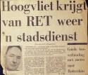 19730103 Hoogvliet krijgt stadsdienst.