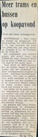 19730309 Meer trams en bussen.