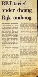 19730313 Tarief omhoog. (NRC)