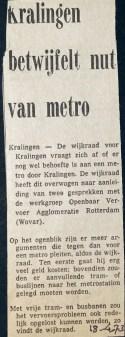 19730418 Kralingen betwijfelt nut.