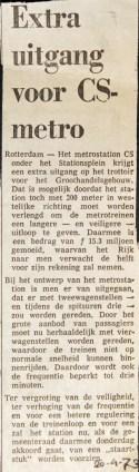 19730420 Extra uitgang CS.