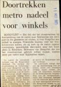 19730515 Doortrekken nadeel voor winkels.