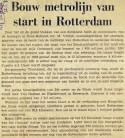 1973052 Bouw metro start. (Ref. DB)