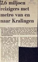 19730627 2,6 miljoen reizigers. (RN)