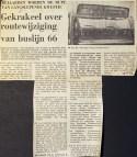 19730713 Gekrakeel wijziging lijn 66.