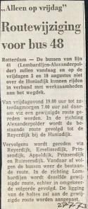 19730727 Wijziging lijn 48.
