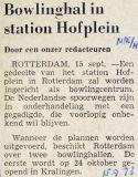 19730915 Bowlinghal Hofplein. (NRC)