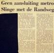 19740116 Geen aansluiting Slinge. (NRC)