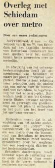 19741106 Overleg met Schiedam. (NRC)