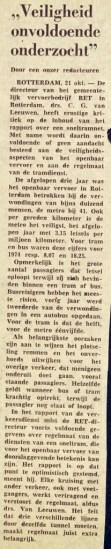 19751021 Veiligheid onvoldoende. (NRC)