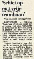 19761020 Vrije trambaan. (HVV)