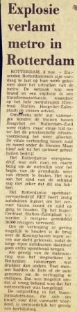 19761108 Explosie verlamt metro. (NRC)
