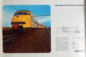 NS supersnel stoptreinmaterieel 30x47