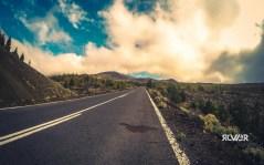 Tutaj powinno być widać wierzchołek Teide. Chmury zrobiły jednak swoją robotę bo na nagrodę trzeba było jeszcze popracować.