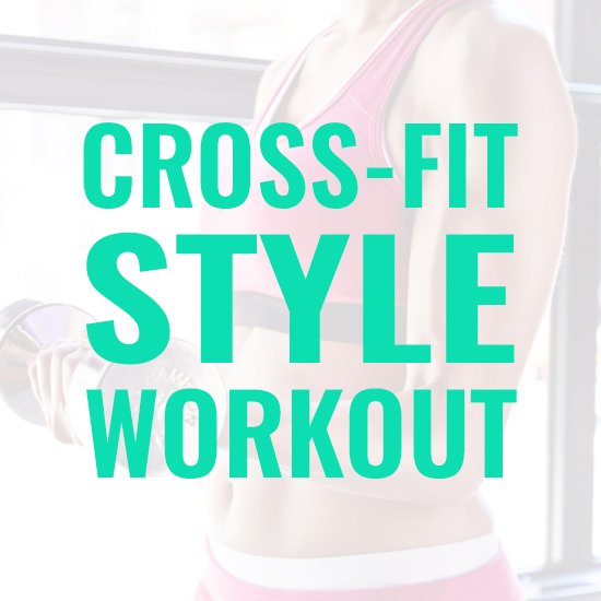 At Home CrossFit-Style Workout