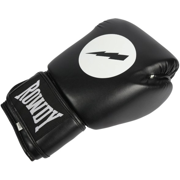 BLACK ROWDY BOXING GLOVES