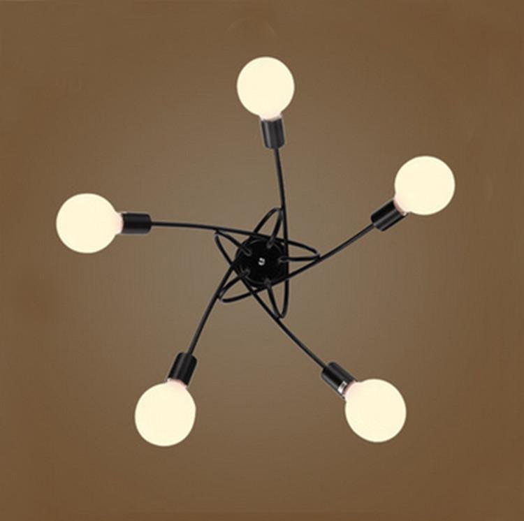 Flush Mount Lighting 5 Light Multi Directional Ceiling